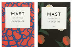 Alternative Milk Chocolates - 'The Mast Brothers' Make Unique Goat and Sheep Milk Chocolate Bars