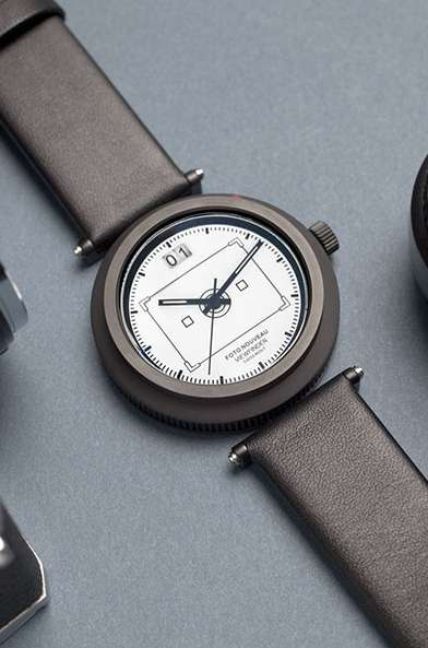 Lens-Inspired Watches