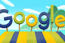 Animated Olympic Doodles - Google Has Released an Animated Doodle and Olympic-Themed Mini Games