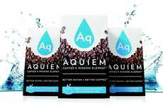 Designer Coffee-Brewing Water - This Designer Coffee Water is Intended for Making Artisanal Brews