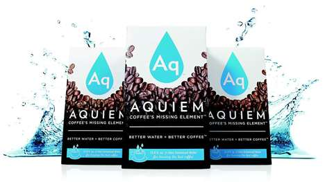 Designer Coffee-Brewing Water