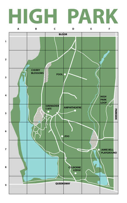 Low-Tech Park Maps