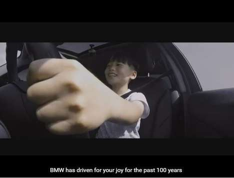 BMW Korea Got Little Kids to Drive a Car Around a Race Track