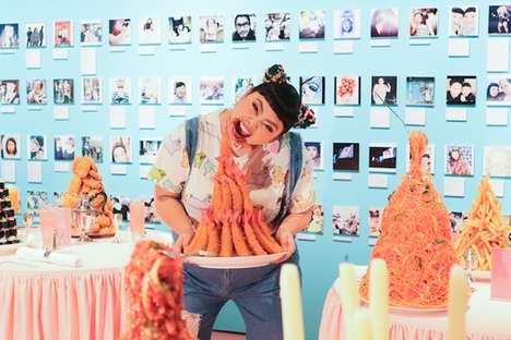 Foodie Influencer Exhibits
