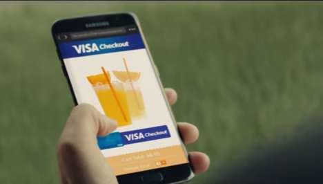 Olympic Payment Technology Ads - The Olympics Commercial Shows the Ways Customers Can Pay With Visa