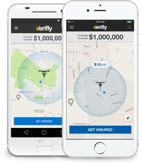 App-Based Drone Insurance