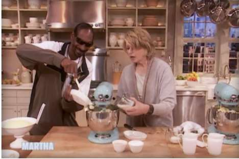 Celebrity Cooking Shows - VH1 is Pairing Up Snoop Dogg & Martha Stewart for a New Cooking Show