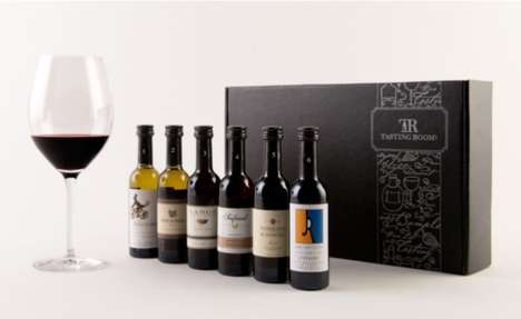 Personalized Wine Sampling Subscriptions - This Service Provides Tasting Kits for Wine Lovers