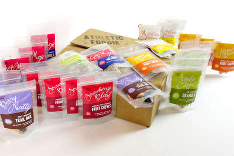 Olympian-Made Snack Packages