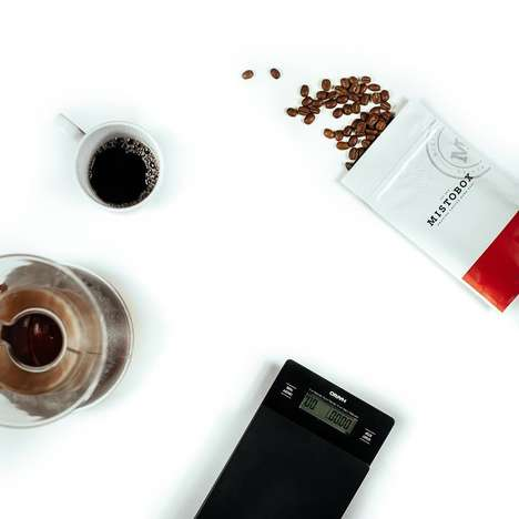 Curated Craft Coffee Subscriptions - MistoBox Ensures That Consumers Receive Their Preferred Blend