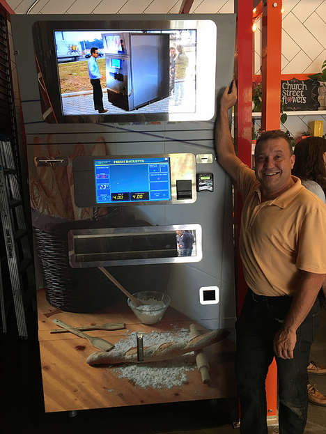 Baguette Vending Machines - This Machine Serves Up Fresh Baguettes On-Demand