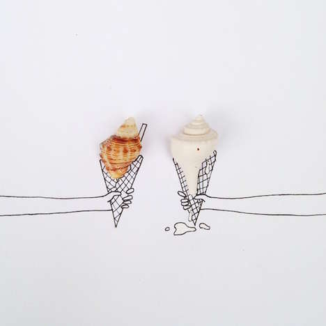 Desiree De Leon Creatively Transforms Tiny Objects Into Works of Art