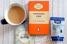 Hybrid Book Delivery Services - 'Bookishly' Sends Gourmet Tea and Vintage Paperbacks to Consumers