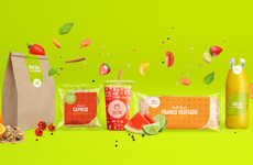 Transparent Fast Food Packaging
