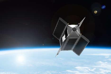Virtual Reality Satellite Cameras