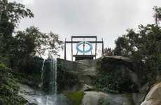 Olympic Waterfall Installations
