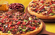 Brazil-Inspired Pizzas - Pizza Hut Australia's Flavors of Rio Lineup Celebrates the Olympic Games