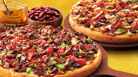 Brazil-Inspired Pizzas