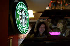 Coffee Rideshare Programs - The Lyft & Starbucks Promotion Rewards Customer with Incentive Deals