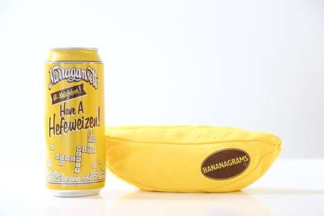 Word Game-Inspired Beers - Narragansett Beer and Bananagrams Created a Flavorful 'Hi Neighbor' Beer