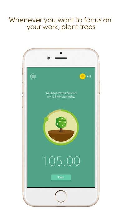 Gamified Digital Detox Apps - This App Encourages Users to Disconnect by Planting Digital Trees