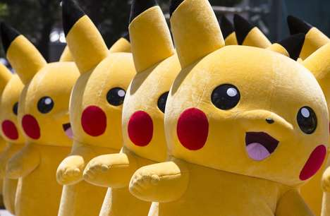 Anime-Themed Parades - A Pokémon Event in Japan Saw 50 People March the Streets as Pikachu
