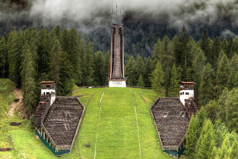 Abandoned Olympic Venue Photography - This Series Offers a Sobering Perspective on the Olympics