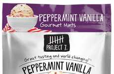 Gourmet Mint Packets - Project 7 Packages Its Breath Mints in Resealable Packs of 12