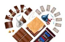 Olympic S'mores Branding - Hershey's is Celebrating Team USA on National S'mores Day 2016