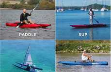 Versatile Portable Watercrafts