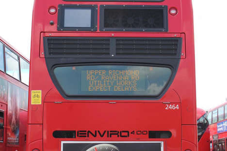 Traffic-Updating Buses