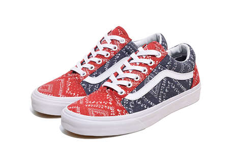 Bandana-Themed Shoes