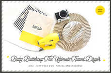 Travel-Sized Blow Dryers - Drybar's Baby Buttercup is a Hair Dryer Made for On-the-Go Styling