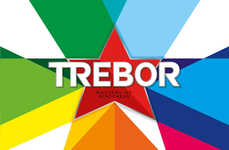 Punchy Mint Packaging - Trebor's New Packaging Packs a Visual Punch with Ultra-Bright Hues
