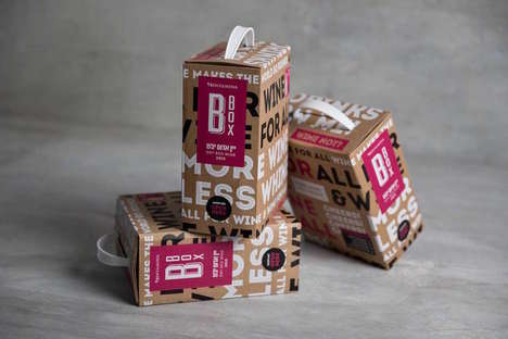 Portable Boxed Wine Packaging