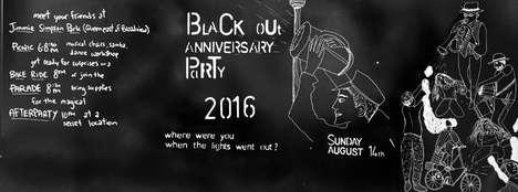 Blackout-Honoring Parties