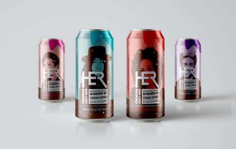 Feminist Beer Branding