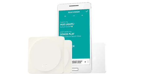 Smart Home Wi-Fi Controls - Logitech 'Pop Home Switch' Manages Smart Home Products with a Few Taps