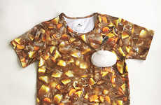 Bizarre Food-Themed Shirts