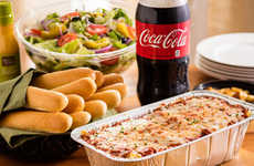 Take-Out Italian Dinners - Olive Garden is Giving Consumers a New Way to Enjoy Its Food at Home