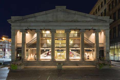 Historic Mall Micro-Apartments