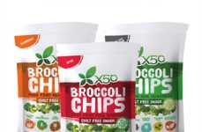 Flavored Broccoli Chips