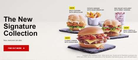 Premium Burger Collections