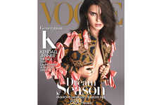 Opulent Socialite Editorials - Vogue's Kendall Jenner Editorial Shows the Model in Statement Apparel