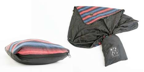 Multi-Use Sleeping Bags - The 'Kachula' Sleeping Bag Can Turn into a Pillow and a Hoodie
