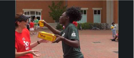 Exam-Based Brand Activations - 'Bojangles' Restaurant Surprised Students with Food After Their Exams