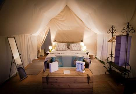 Luxurious Music Festival Accommodations - Cornbury's Pop-Up Hotel Caters to an Upscale Clientele