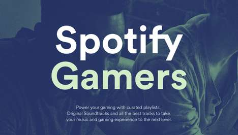 Gamer-Dedicated Playlists - The Spotify Gamers Portal Features Video Game Soundtrack Playlists