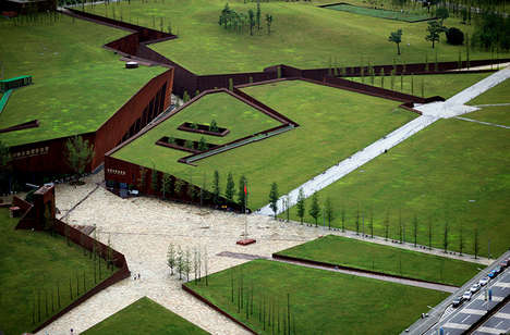 Earthquake Memorial Museums - This Landscape Museum Mimics the Wenchuan Earthquake Fault Lines