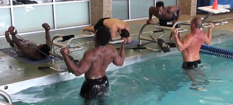 Full-Body Aquatic Fitness Devices